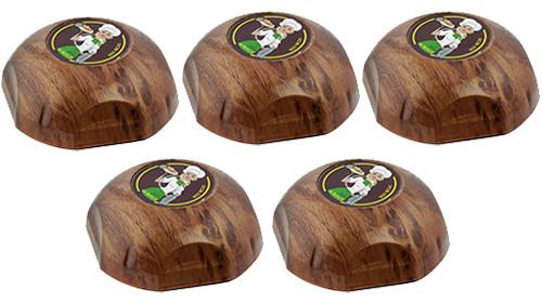 Фото: кнопки виклику офіціанта RECS HCM-350 Wood Girl - 5 штук - комплект системи виклику RECS №6