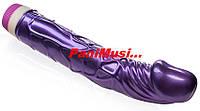 Купить Гелевый Вибратор Классический Фиолетовый длина 23см.