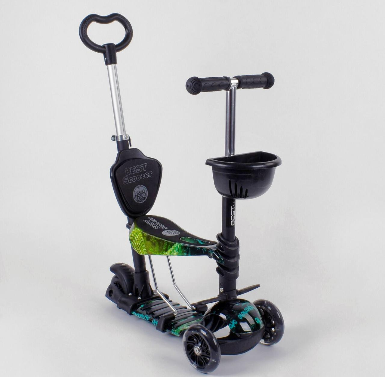 Самокат Best Scooter 5 в 1 Абстракция 10999 подсветка колес