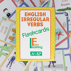 Англійські картки з неправильними дієсловами ENGLISH IRREGULAR VERBS Flashcards