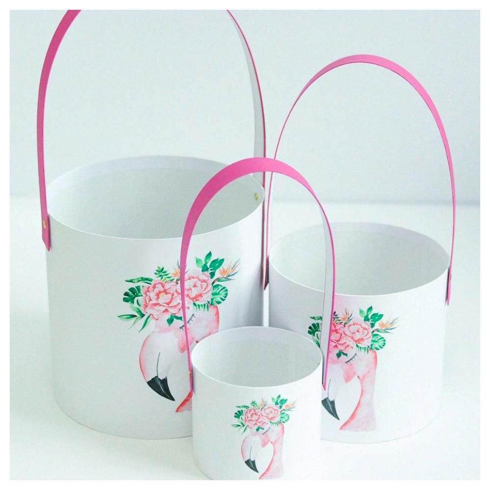 "Набор корзинок ""Фламинго"""
