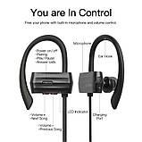 Бездротові спортивні навушники Bluetothe Sports Earphone GGMM W600, фото 4