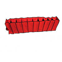 Подвесной органайзер для хранения вещей на 10 секций