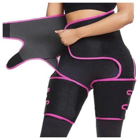 Корректирующий костюм для похудения 3в1 Adjustable one Piece L-XL