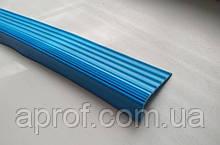 Гумова антиковзна накладка на ступені (Блакитна)