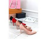 Туфли лакированные на каблуке, фото 2