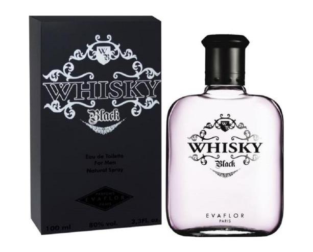 Туалетная вода Evaflor Whisky Black EDT 100ml (Евафлор Виски Блек)