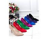 Туфли замшевые Comer, фото 3