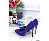 Туфли замшевые Comer, фото 4