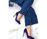 Туфли замшевые Comer, фото 5