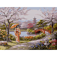 "Картина по номерам. Пейзаж ""Нарисованный рай"". 40х50см KHO2810"