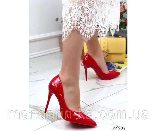 Туфли лакированные Comer