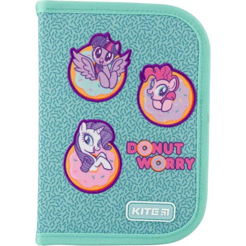 Пенал без наполнения Kite Education My Little Pony LP20-622 1 отделение голубой