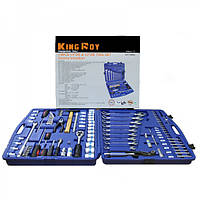 Набор инструментов 118 предметов, 1/4-1/2 дюйма, King Roy 118MDA
