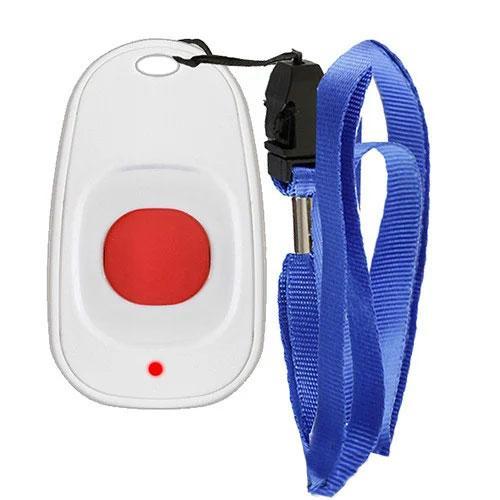 Фото: кнопка вызова персонала с ремешком RECS RC-11 - 1 штука - комплект системы вызова RECS №28