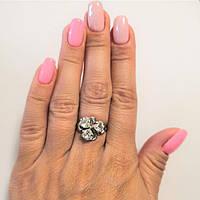 Кольцо из серебра родированное Лама, фото 1