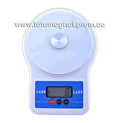 Весы кухонные электронные NN  6109/109 5кг LANP (электронные весы)