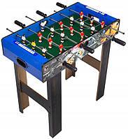 Деревянный напольный футбол (кикер) XJ 803-2 на штангах (69*37*64,5 см)