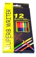 """Карандаши цветные двухсторонние """"Marco"""" 12/24 цвета."""
