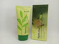 FarmStay Green Tea Seed Moisture Sun Cream. Защитный увлажняющий крем с семенами зеленого чая