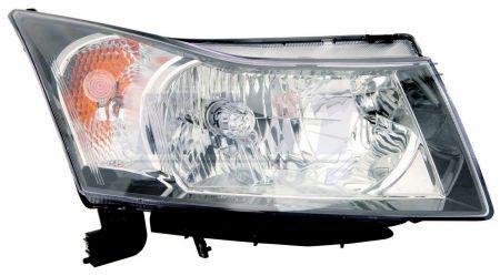 Фара правая Chevrolet Cruze J300 09-15 электрич. регулир. DEPO 96828235