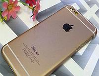 Чехол-накладка для Iphone 6 6S золотой