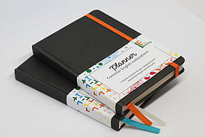 Планер - нове англійське словосполучення щодня чорний з оранжевою резинкою