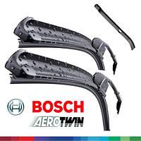 600/450мм Megane II 2006-2009 дворники Bosch AeroTwin A 115S Склоочисники
