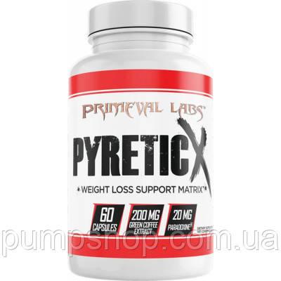 Жіросжігателя Primeval Labs PyreticX 60 капс.