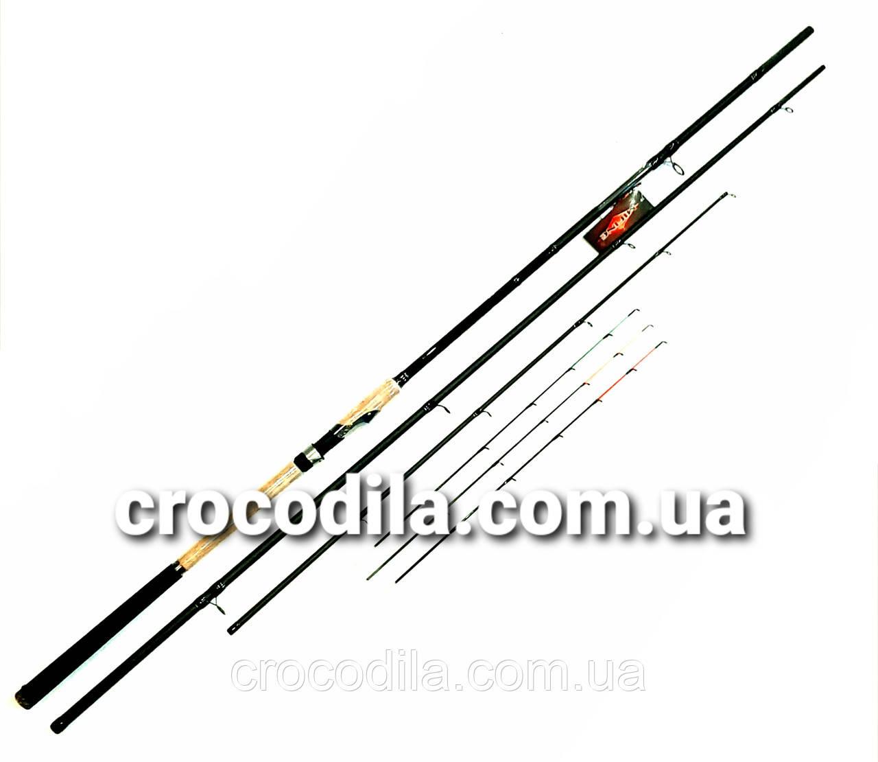 Карбоновое фидерное удилище Mifine West Star Feeder Game 3.3 м до 80-180 грамм