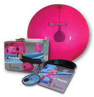 "PendyBall by Ledragomma original ""pezzi""®- упражнения на мяче с маятником внутри."