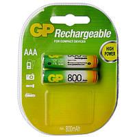 Аккумуляторы GP R3/AAA 800 mAh (Блистер 2 батарейки)