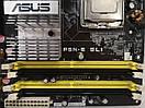 Материнская плата ASUS P5N-E SLI +E2140  s775  DDR2, фото 3