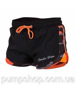 Женские спортивные шорты Gorilla Wear Denver Shorts Неон-оранжевые L