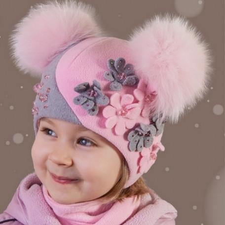 Шапки для дівчаток зимові  8881b483ea40e