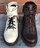 Ботинки молодежные из натуральной кожи от производителя модель ФС315, фото 3
