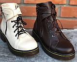 Ботинки молодежные из натуральной кожи от производителя модель ФС315, фото 4