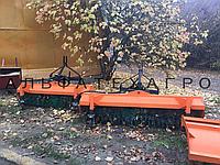 Щетка дорожная (коммунальная) к мини-погрузчикам, фото 1