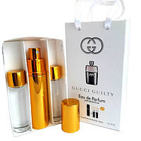 Набор с феромонами Gucci Guilty pour Homme (3×15 ml)