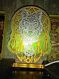 Соляной светильник Ловец снов цветной, фото 4