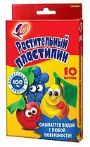 """Пластилин растительный Луч """"Кроха"""" 10 цветов 25С 1556-08"""