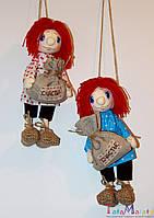 Интерьерная текстильная кукла ручной работы. Домовенок Кузя