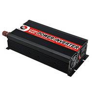 Автоинвертор (авто преобразователь) 12В х 220В, 1200 Вт