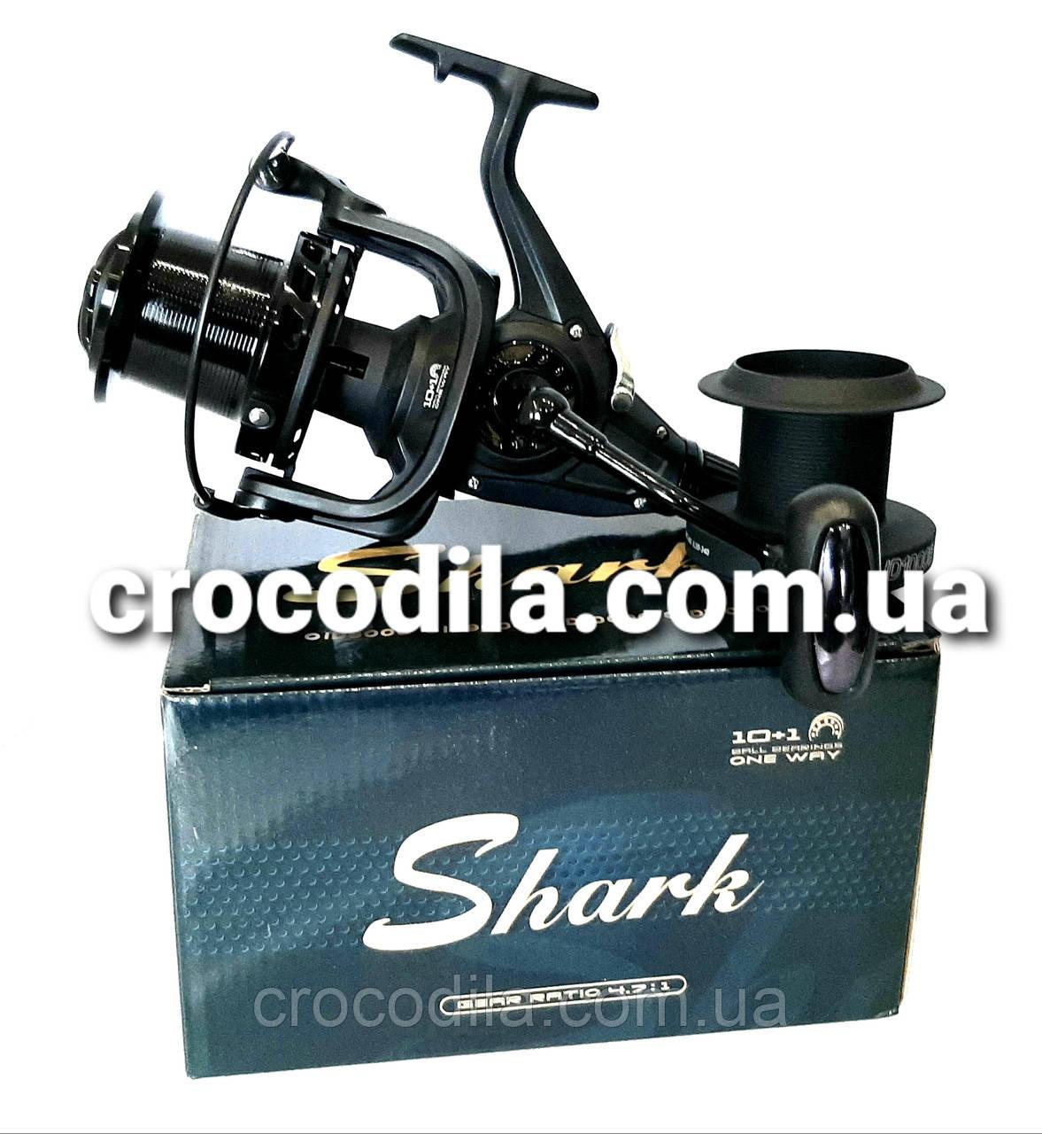 Карповая катушка с бейтранером Shark ID 10000 10+1