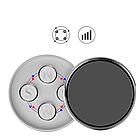 Магнітний тримач для телефона з 4 магнітами на торпєду.СРІБНИЙ,ЧОРНИЙ, фото 2