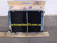 Радиатор Газель, Газ 3302, Газ 3221, Газ 2705, Соболь 2-х рядный, медно-латунный (производитель ШААЗ, Россия)
