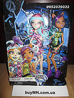 Вайперин Горгон и Клодин Вульф пугающий макияж Monster High Scare Make-Up Viperine Gorgon and Clawdeen Wolf