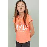 Футболка для дівчинки H&M на зріст 146-152 см, фото 2