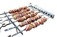 Шашлычница электрическая PicNic BBQ со стационарными кронштейнами ленивый шашлычник (PNQ-010)