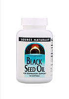 Масло чёрного тмина, Source Naturals 120 капсул